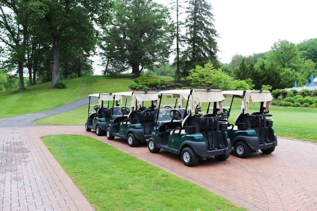 Golf Carts At The Omni Homestead